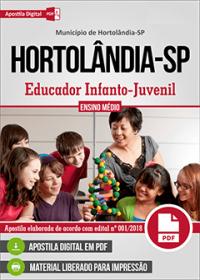 Educador Infanto-Juvenil - Prefeitura de Hortolândia - SP