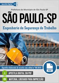 Engenharia da Segurança do Trabalho - Prefeitura de São Paulo - SP