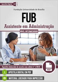 Assistente em Administração - FUB