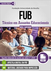 Técnico em Assuntos Educacionais - FUB