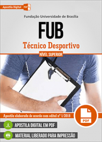 Técnico Desportivo - FUB