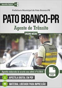 Agente de Trânsito - Prefeitura de Pato Branco - PR