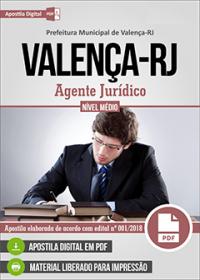 Agente Jurídico - Prefeitura de Valença - RJ