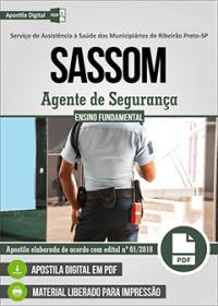 Agente de Segurança - SASSOM
