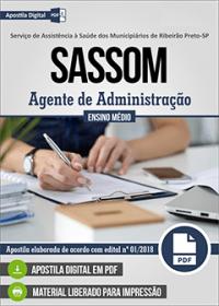 Agente de Administração - SASSOM