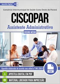 Assistente Administrativo - CISCOPAR