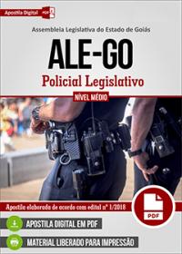 Policial Legislativo - ALE-GO