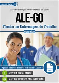 Técnico em Enfermagem do Trabalho - ALE-GO