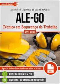 Técnico em Segurança do Trabalho - ALE-GO