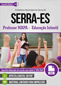 Professor MAPA - Educação Infantil - Prefeitura da Serra - ES