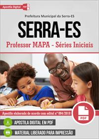 Professor MAPA - Séries Iniciais - Prefeitura da Serra - ES