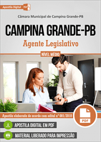 Agente Legislativo - Câmara de Campina Grande - PB