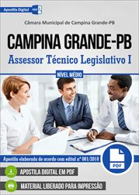 Assessor Técnico Legislativo I - Câmara de Campina Grande - PB