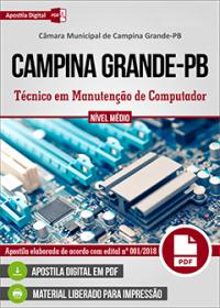 Técnico em Manutenção de Computador - Câmara de Campina Grande - PB