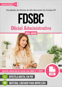 Oficial Administrativo - FDSBC