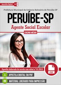 Agente Social Escolar - Prefeitura de Peruíbe - SP