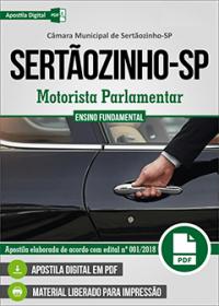 Motorista Parlamentar - Câmara de Sertãozinho - SP