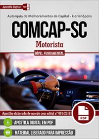 Motorista - COMCAP-SC