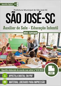Auxiliar de Sala - Educação Infantil - Prefeitura de São José - SC