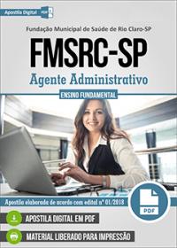 Agente Administrativo - FMSRC-SP