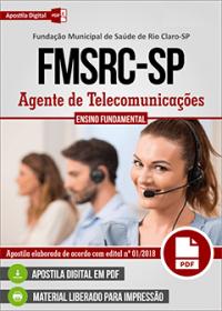 Agente de Telecomunicações - FMSRC-SP