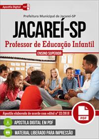 Professor de Educação Infantil - Prefeitura de Jacareí - SP