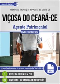 Agente Patrimonial - Prefeitura de Viçosa do Ceará - CE