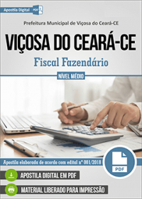 Fiscal Fazendário - Prefeitura de Viçosa do Ceará - CE