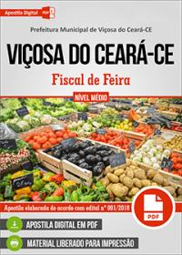 Fiscal de Feira - Prefeitura de Viçosa do Ceará - CE
