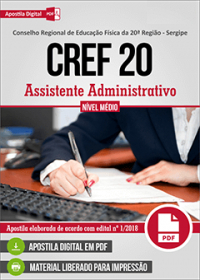 Assistente Administrativo - CREF 20ª Região - Sergipe
