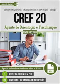 Agente de Orientação e Fiscalização - CREF 20ª Região - Sergipe