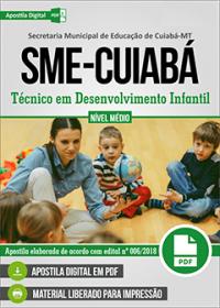 Técnico em Desenvolvimento Infantil - SME-Cuiabá - MT