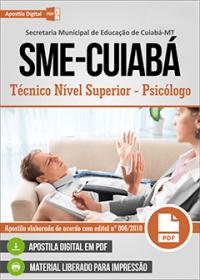 Técnico Nível Superior - Psicólogo - SME-Cuiabá - MT
