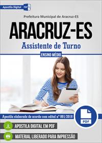 Assistente de Turno - Prefeitura de Aracruz - ES