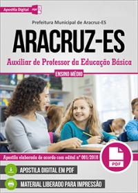 Auxiliar de Professor da Educação Básica - Prefeitura de Aracruz - ES