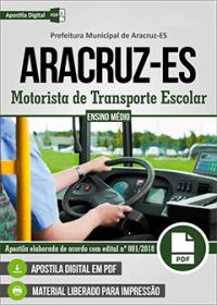 Motorista de Transporte Escolar - Prefeitura de Aracruz - ES