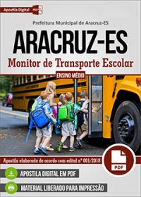 Monitor de Transporte Escolar - Prefeitura de Aracruz - ES