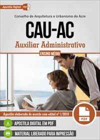 Auxiliar Administrativo - CAU - AC