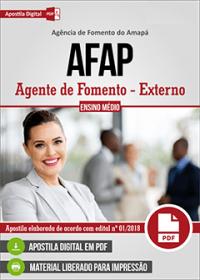 Agente de Fomento - Externo - AFAP