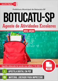 Agente de Atividades Escolares - Prefeitura de Botucatu - SP