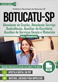 Atendente de Creche - Prefeitura de Botucatu - SP