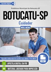 Cuidador - Prefeitura de Botucatu - SP