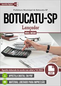 Lançador - Prefeitura de Botucatu - SP