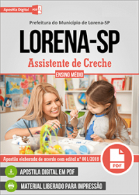 Assistente de Creche - Prefeitura de Lorena - SP