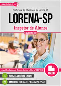 Inspetor de Alunos - Prefeitura de Lorena - SP