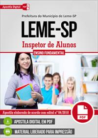 Inspetor de Alunos - Prefeitura de Leme - SP