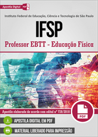 Professor EBTT - Educação Física - IFSP
