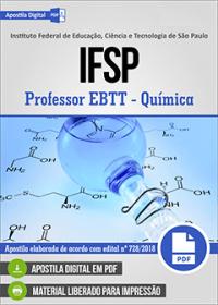 Professor EBTT - Química - IFSP