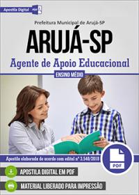 Agente de Apoio Educacional - Prefeitura de Arujá - SP
