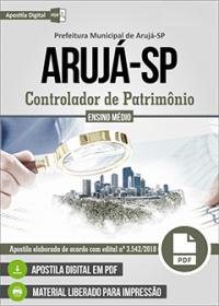 Controlador de Patrimônio - Prefeitura de Arujá - SP